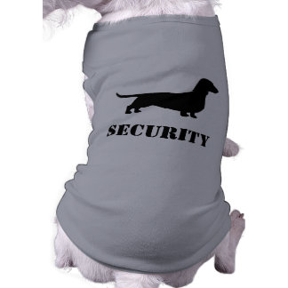 Dachshund Silhouette - SECURITY Dog Shirt