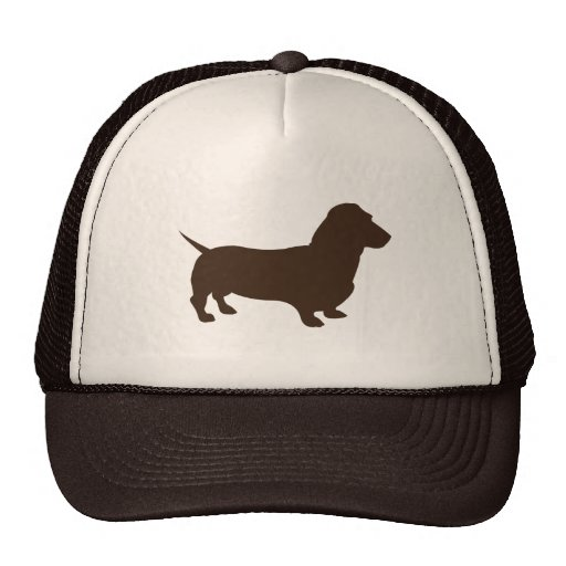 dachshund_simple trucker hats
