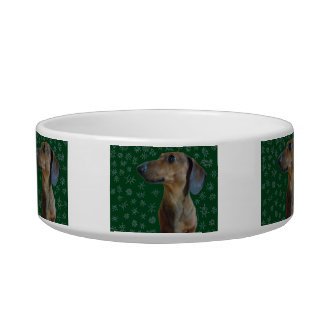 Dachshund Snow Bowl