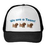 Dachshund Team Cap/ Hat (Blue)