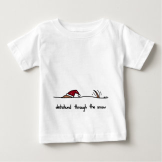 dachshund through the snow baby T-Shirt