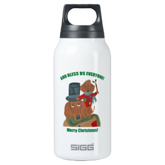 Dachshund Tiny Tim SIGG Thermo 0.3L Insulated Bottle