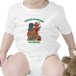 Dachshund Tiny Tim Baby Creeper