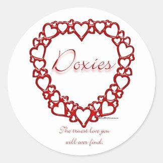 Dachshund True Love - Sticker