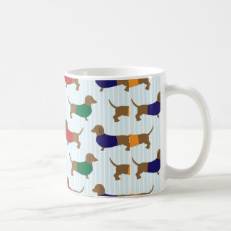 dachshund-wallpaper coffee mug