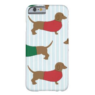 Dachshund Wiener Dog Cartoon Art iPhone 6/6s Case