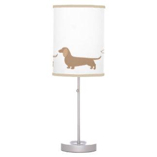 Dachshund Wiener Dog Doxie Lamp Light