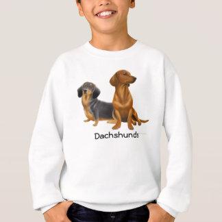 Dachshund Wiener Dogs Kids Sweatshirt