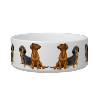 Dachshund Wiener Dogs Pet Bowl