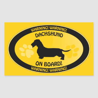 Dachshund [wire-haired] Xing Sticker