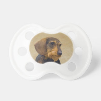 Dachshund (Wirehaired) Pacifier