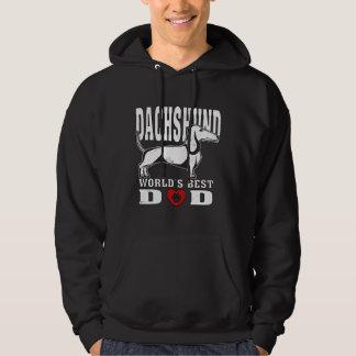 Dachshund World's Best Dad Hoodie