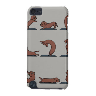 Dachshund Yoga iPod Touch (5th Generation) Cover