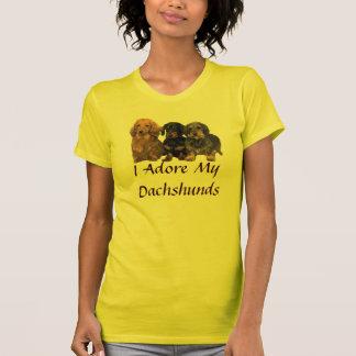 Dachshunds Adore T-Shirt