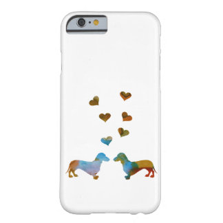 Dachshunds Barely There iPhone 6 Case