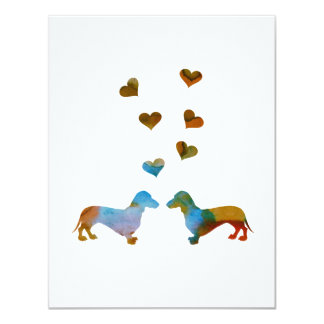 Dachshunds Card
