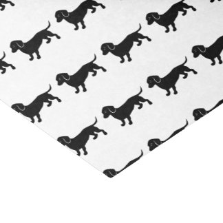 Dachshunds Pattern Tissue Paper