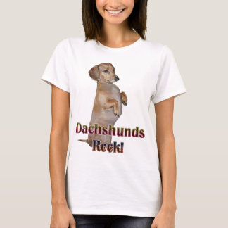 Dachshunds Rock Lilly T-Shirt