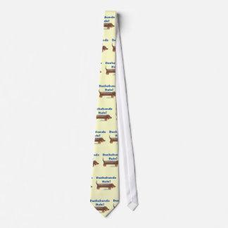 Dachshunds Rule Tie