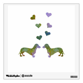 Dachshunds Wall Sticker