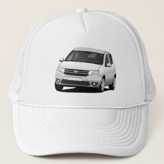 Dacia Sandero - illustration - blue Trucker Hat