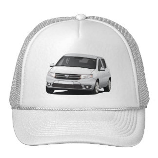 Dacia Sandero - illustration - blue Trucker Hat