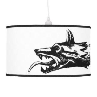 dacia wolf snake flag history romania symbol dacs pendant lamp