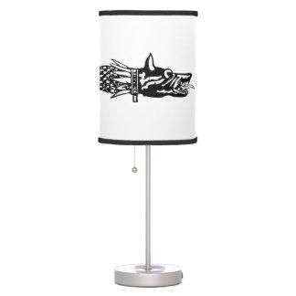 dacia wolf snake flag history romania symbol dacs table lamp