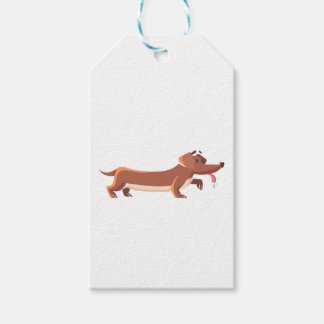 Dackel sausage dog gift tags