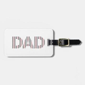 Dad also Mom Luggage Tag