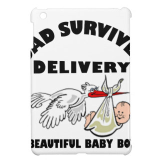 Dad and beautiful baby son cover for the iPad mini