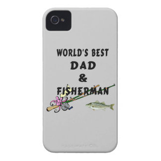 Dad and Fishing Case-Mate iPhone 4 Case