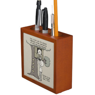Dad Believes in Possibilities Desk Organizer