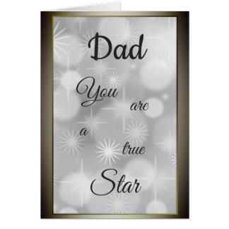 Dad Birthday luxury modern design Card