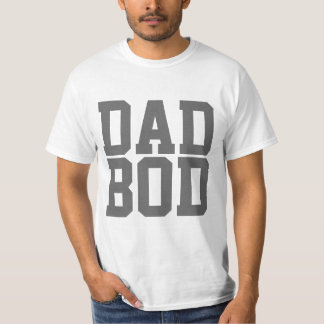 Dad Bod, Cool Funny Father's Day T-Shirt