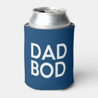 Dad Bod funny saying can cooler beer soda