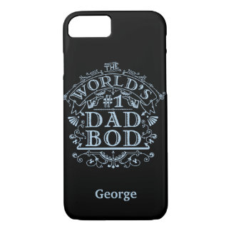 Dad Bod Humor Funny Fathers Vintage Personalized iPhone 7 Case