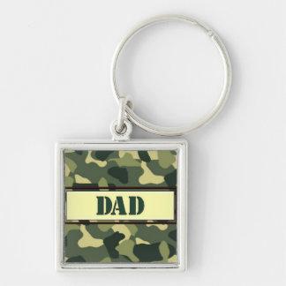 Dad - Camo Keychain