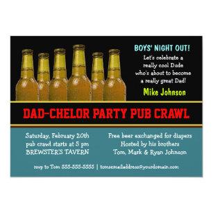 Pub Crawl Invitations & Announcements | Zazzle CA