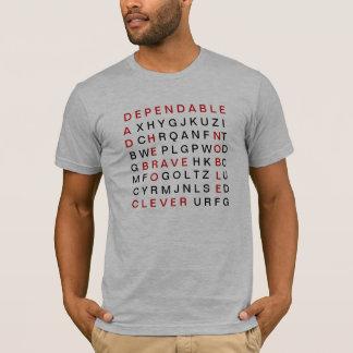 Dad Crossword Puzzle T-Shirt