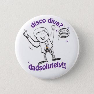 Dad Dancing 2 Inch Round Button