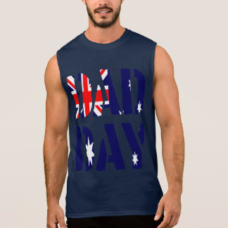 DAD DAY Australia Happy Father's day! Sleeveless Shirt