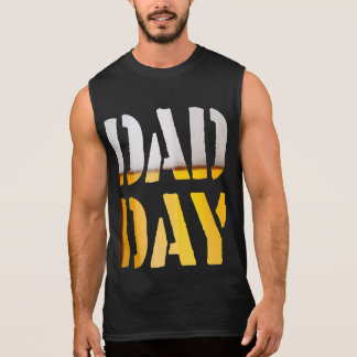 DAD DAY Beer Happy Father's day! Sleeveless Shirt