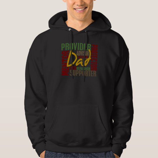 Dad Definitions Father's Day Hoodie
