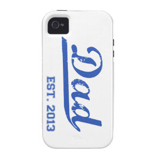 DAD EST. 2013 NEW DADDY BABY FATHER'S DAY GIFT iPhone 4/4S CASES