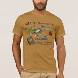 Dad Geocache Fever T-Shirt