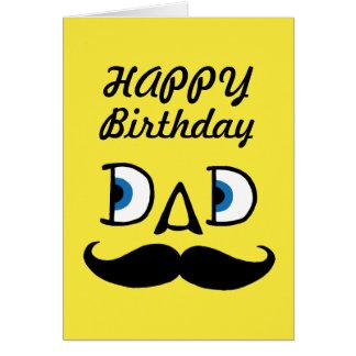 Dad Happy Birthday Greeting Card