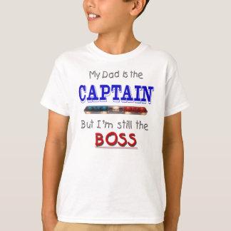 Dad is Captain T-Shirt