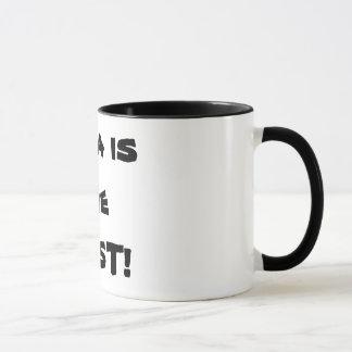 Dad is the BEST! Mug
