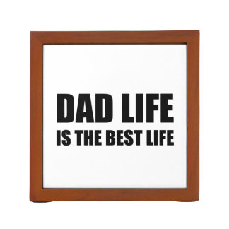 Dad Life Best Life Desk Organizer